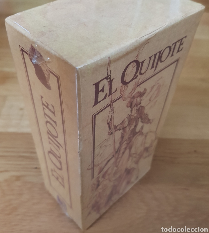 Series de TV: El Quijote. Serie de TVE. 2 vídeos VHS. A estrenar. Banco Central Hispano. - Foto 4 - 153838532