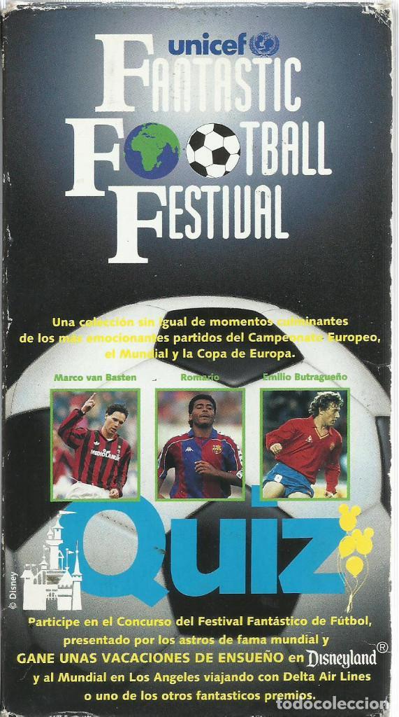 FANTASTIC FOOTBALL FESTIVAL (Series TV en VHS )