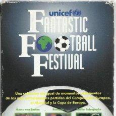 Series de TV: FANTASTIC FOOTBALL FESTIVAL. Lote 154102234