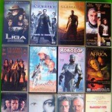 Series de TV: LOTE 12 PELICULAS VHS - MATRIX, ROBOCOP, GLADIATOR, LEYENDAS DE PASION, PEARL HARBOURG. Lote 154923538