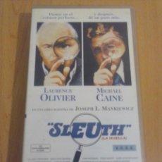 Series de TV: SLEUTH (LA HUELLA) - VHS. Lote 155027874