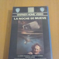 Serie di TV: LA NOCHE SE MUEVE - VHS. Lote 155027950