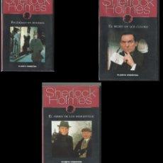 Series de TV: LOTE SHERLOCK HOLMES (VHS) SE PUEDE VENDER POR SEPARADO. Lote 155040258