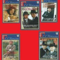 Series de TV: LOTE: EL RETORNO DE SHERLOCK HOLMES 5 (VHS) SE PUEDE VENDER POR SEPARADO. Lote 155040434