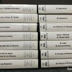 Series de TV: LOTE 14 VHS FÉLIX RODRÍGUEZ DE LA FUENTE - EL HOMBRE Y LA TIERRA - SERIE FAUNA IBÉRICA. Lote 155295106