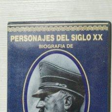 Series de TV: PERSONAJES DEL SIGLO XX BIOGRAFÍA DE HITLER VHS. Lote 155831553