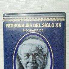 Series de TV: PERSONAJES DEL SIGLO XX BIOGRAFÍA DE EDISON VHS. Lote 155831885