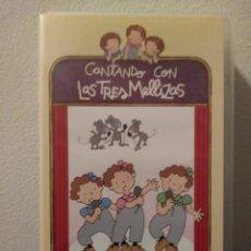 Series de TV: CONTANDO CON LAS 3 MELLIZAS.VHS. Lote 156657400