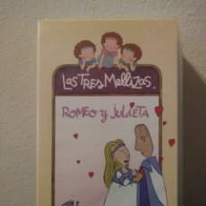 Series de TV: LAS TRES MELLIZAS: ROMEO & JULIETA.VHS. Lote 156657601