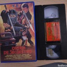 Series de TV: ORDEN DE SECUESTRO (THE MASTER) VHS. Lote 156808181