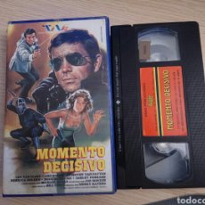 Series de TV: MOMENTO DECISICO (THE MASTER) VHS. Lote 156808576