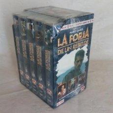 Series de TV: LA FORJA DE UN REBELDE ( 5 CINTAS VIDEO VHS ) GRANDES SERIES RTVE. . Lote 158130062
