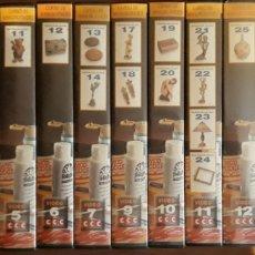 Series de TV: VHS CURSO DE MANUALIDADES CCC COMPLETO 16U. Lote 159056806