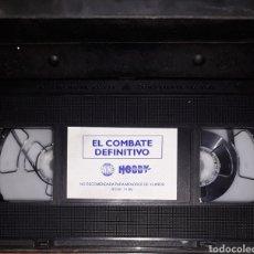 Series de TV: VHS DRAGÓN BALL EL COMBATE DEFINITIVO. Lote 159092234