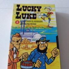 Series de TV: PELÍCULA CAPÍTULO EN VHS LUCKY LUKE. Lote 159222761