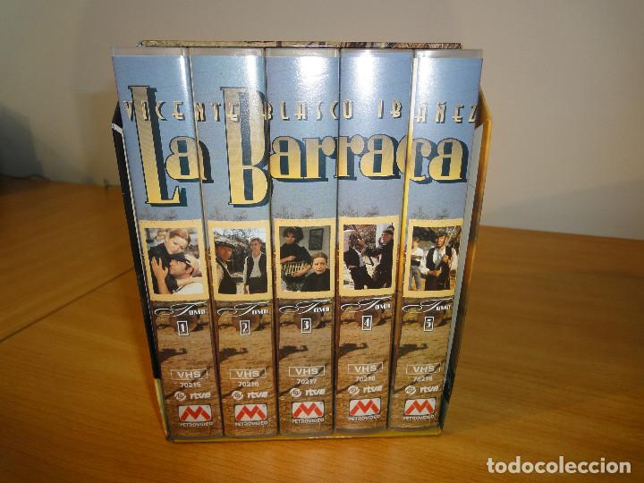VHS. GRANDES SERIES DE TVE. LA BARRACA (PARA RTVE, 1994) (Series TV en VHS )