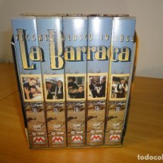 Series de TV: VHS. GRANDES SERIES DE TVE. LA BARRACA (PARA RTVE, 1994). Lote 160868146