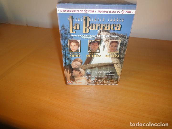 Series de TV: VHS. Grandes series de TVE. La Barraca (para RTVE, 1994) - Foto 2 - 160868146