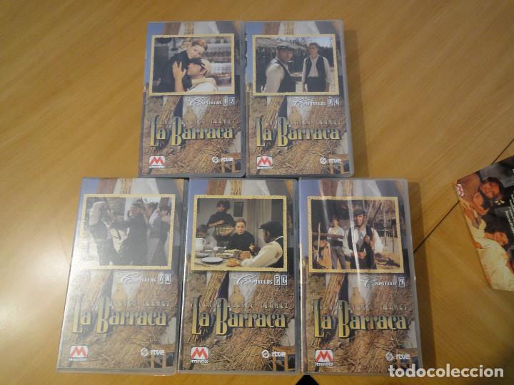 Series de TV: VHS. Grandes series de TVE. La Barraca (para RTVE, 1994) - Foto 3 - 160868146