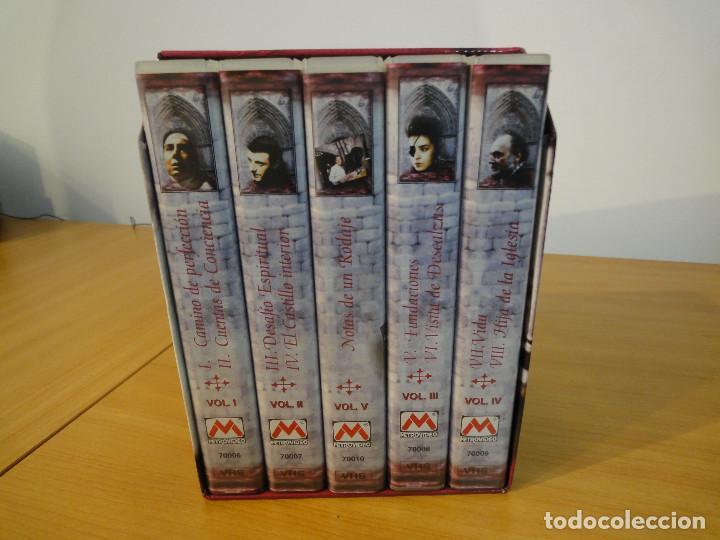 VHS. GRANDES SERIES DE TVE. TERESA DE JESÚS (METROVIDEO PARA RTVE, 1994) (Series TV en VHS )