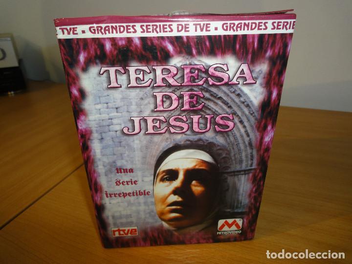 Series de TV: VHS. Grandes series de TVE. Teresa de Jesús (MetroVideo para RTVE, 1994) - Foto 2 - 160868470