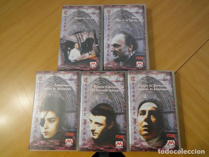 Series de TV: VHS. Grandes series de TVE. Teresa de Jesús (MetroVideo para RTVE, 1994) - Foto 3 - 160868470