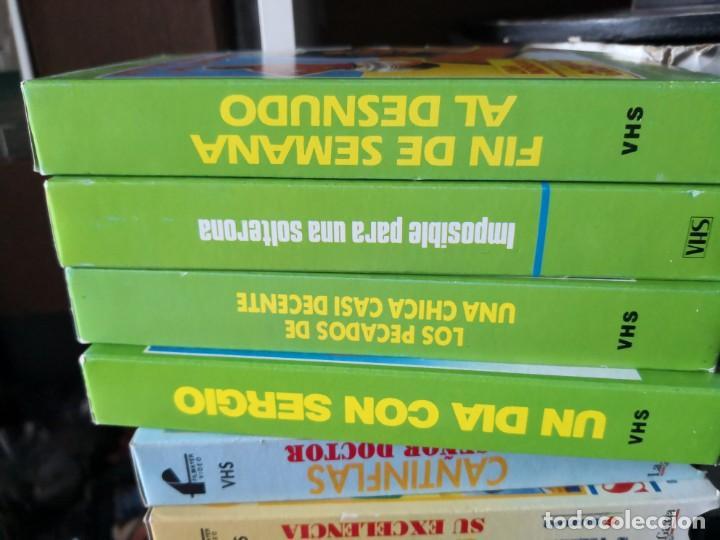Series de TV: Coleccion 18 vhs cantinflas más 4 vhs luna morgan - Foto 2 - 161997062