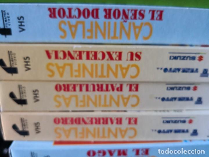 Series de TV: Coleccion 18 vhs cantinflas más 4 vhs luna morgan - Foto 3 - 161997062