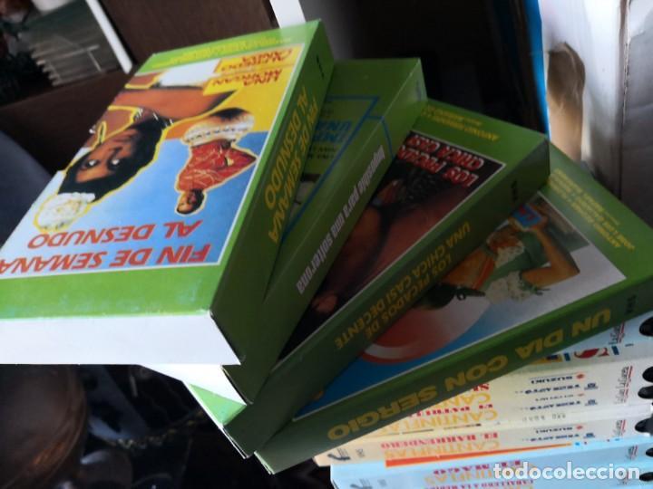 Series de TV: Coleccion 18 vhs cantinflas más 4 vhs luna morgan - Foto 4 - 161997062