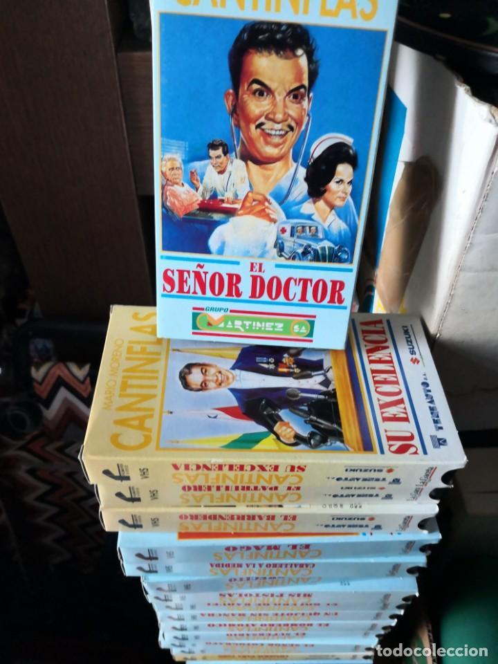 Series de TV: Coleccion 18 vhs cantinflas más 4 vhs luna morgan - Foto 6 - 161997062