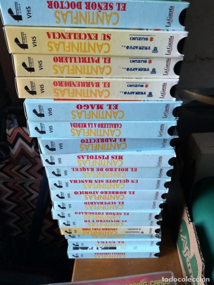 Series de TV: Coleccion 18 vhs cantinflas más 4 vhs luna morgan - Foto 8 - 161997062