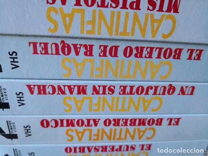 Series de TV: Coleccion 18 vhs cantinflas más 4 vhs luna morgan - Foto 9 - 161997062