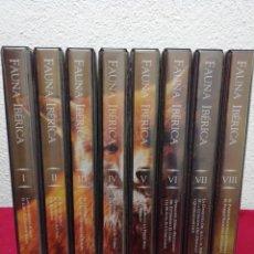 Series de TV: FAUNA IBÉRICA FÉLIX RODRÍGUEZ DE LA FUENTE. COLECCIÓN SALVAT VHS. OCHO ESTUCHES CON DOS VHS CADA UNO. Lote 162211646