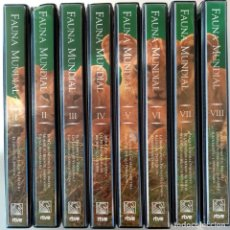 Series de TV: FAUNA MUNDIAL - FELIX RODRIGUEZ DE LA FUENTE - COMPLETA 16 CINTAS VHS - ALGUNAS PRECINTADAS. Lote 162781274