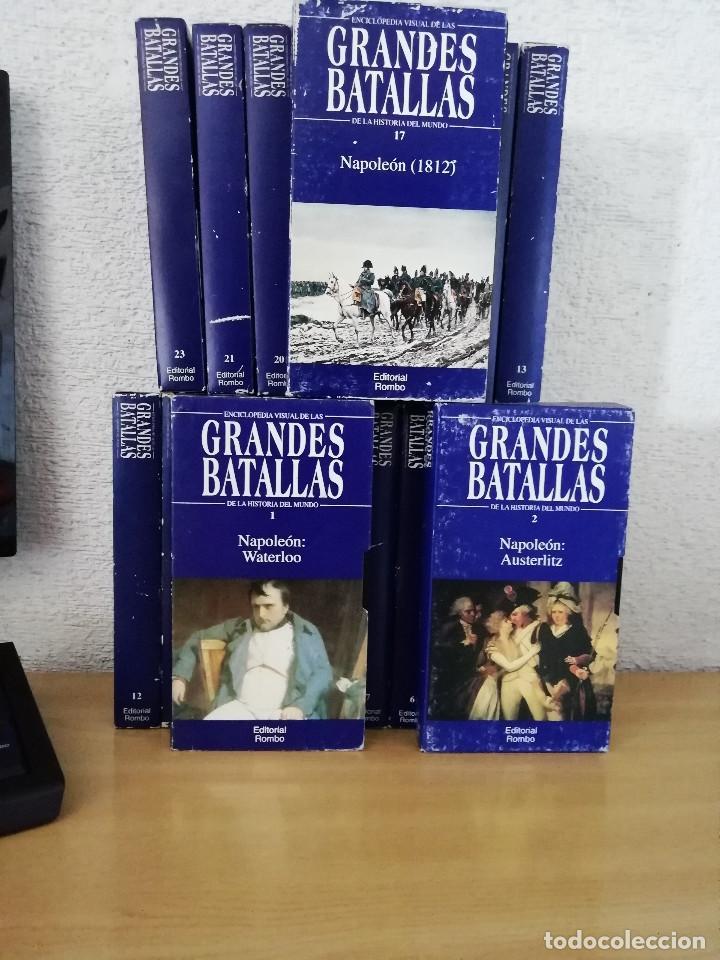 Series de TV: Enciclopedia visual de las Grandes Batallas de la historia del mundo (21 VHS NO ESTA COMPLETA) - Foto 2 - 164099714