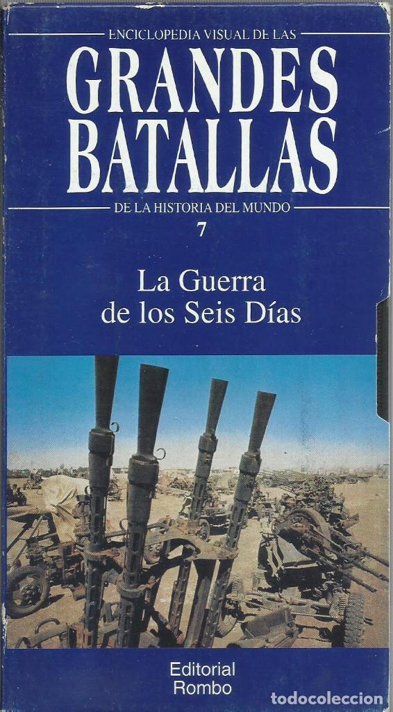 Series de TV: Enciclopedia visual de las Grandes Batallas de la historia del mundo (21 VHS NO ESTA COMPLETA) - Foto 8 - 164099714