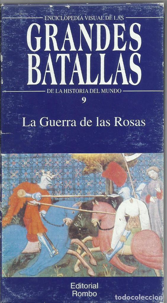 Series de TV: Enciclopedia visual de las Grandes Batallas de la historia del mundo (21 VHS NO ESTA COMPLETA) - Foto 10 - 164099714