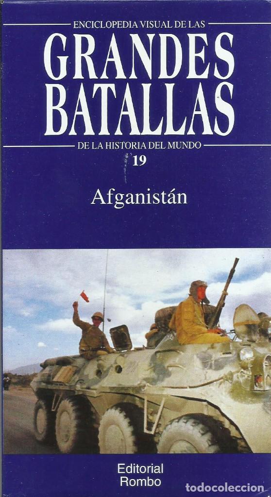 Series de TV: Enciclopedia visual de las Grandes Batallas de la historia del mundo (21 VHS NO ESTA COMPLETA) - Foto 19 - 164099714