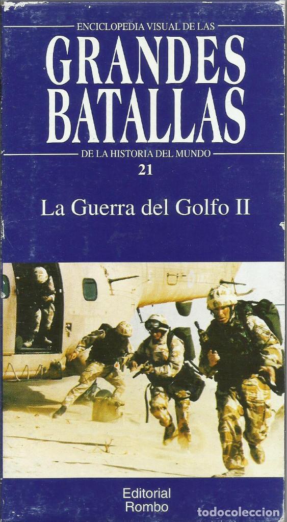 Series de TV: Enciclopedia visual de las Grandes Batallas de la historia del mundo (21 VHS NO ESTA COMPLETA) - Foto 21 - 164099714
