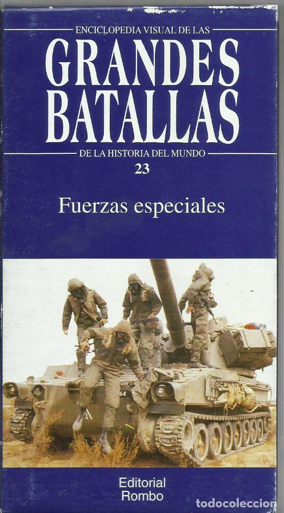 Series de TV: Enciclopedia visual de las Grandes Batallas de la historia del mundo (21 VHS NO ESTA COMPLETA) - Foto 22 - 164099714