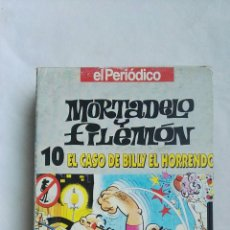 Series de TV: MORTADELO Y FILEMÓN EL CASO DE BILLY EL HORRENDO VHS. Lote 168382641