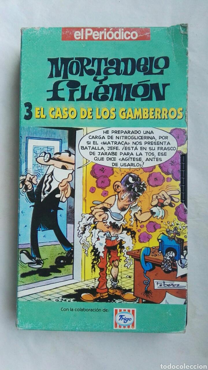 MORTADELO Y FILEMÓN EL CASO DE LOS GAMBERROS VHS (Series TV en VHS )