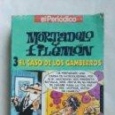Series de TV: MORTADELO Y FILEMÓN EL CASO DE LOS GAMBERROS VHS. Lote 168609434