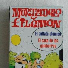Series de TV: VIDEO VHS: MORTADELO Y FILEMÓN. EL SULFATO ATÓMICO. EL CASO DE LOS GAMBERROS S.A.V. 1994. Lote 168970868