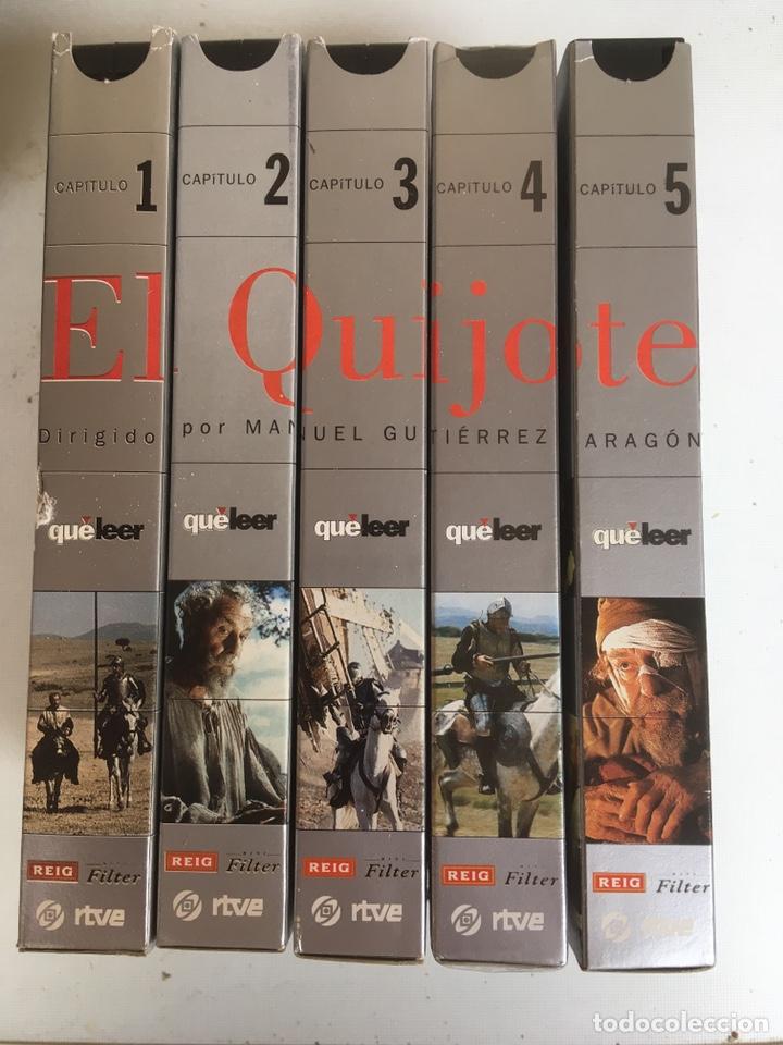 SERIE EL QUIJOTE RTVE 5 PELICULAS VHS (Series TV en VHS )