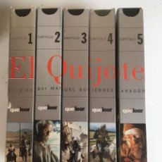 Series de TV: SERIE EL QUIJOTE RTVE 5 PELICULAS VHS. Lote 169200864