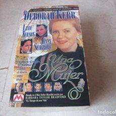 Series de TV: UNA MUJER VHS - 3 CINTAS - SERIE TV - METRO VIDEO - CON DEBORAH KERR Y LIAM NEESON. Lote 170577395