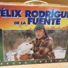 Series de TV: FAUNA IBÉRICA / FÉLIX RODRÍGUEZ DE LA FUENTE / COLECCIÓN COMPLETA 18 VHS EN SU MALETÍN / . Lote 172731863