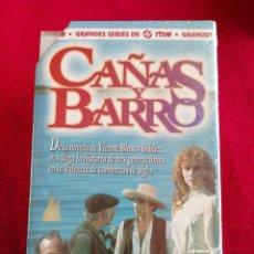 Series de TV: CAÑAS Y BARRO. SERIE COMPLETA, 6 CAPÍTULOS DE 60 MINUTOS CADA UNO EN 3 VHS. PRECINTADA.. Lote 173002273
