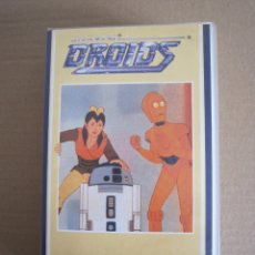 Series de TV: STAR WARS - VHS - DIBUJOS ANIMADOS - DROIDS - Nº 1. Lote 176215058